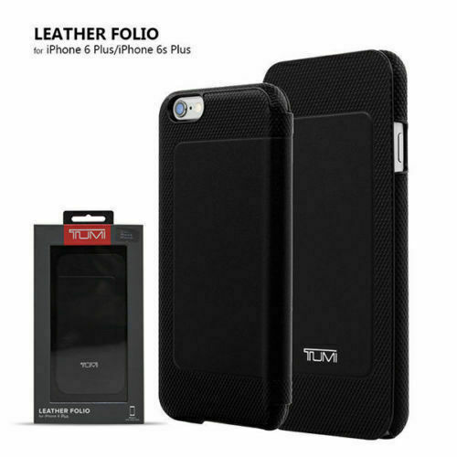 Tumi Premium Leather Folio Case Cover For Iphone 6 Plus Black Fb24 For Sale Online Ebay