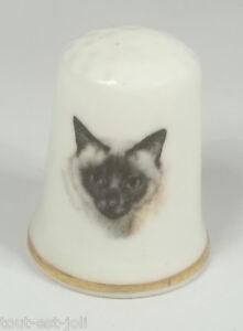 Dé à Coudre En Porcelaine Avec Un Chat ,thimble *10 J5ryygce-07234533-138754375