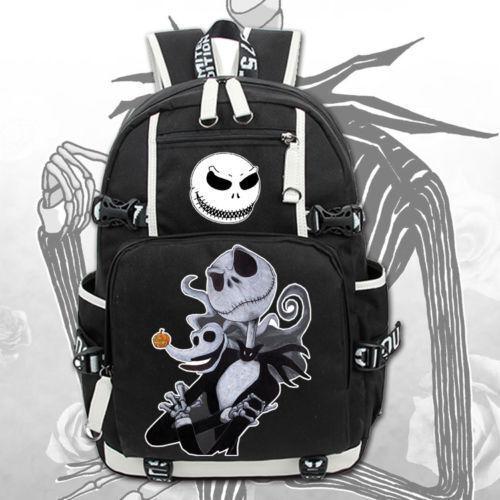 The Nightmare Before Christmas Backpack Knapsack Packsack Travel Student Bag Hot