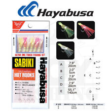 Hayabusa S-501e-12 Sabiki Set Mix-yarn Red 6hk 12 Fishing Rig for sale online