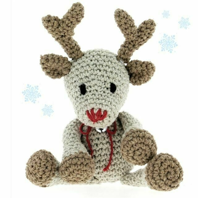 Christmas Crochet - A Must Have Reindeer Amigurumi For This Christmas | 640x640