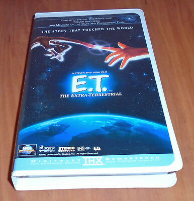 From Mca Universal Home Video A Family Classic E T Vhs 96898286435 Ebay