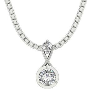 Solitaire-Pendant-SI1-G-0-40-Carat-Natural-Diamond-14K-White-Yellow-Rose-Gold