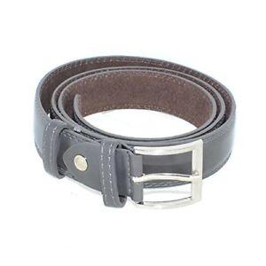Cintura uomo elegante art:934534 vera pelle grigio lucido  monocromo