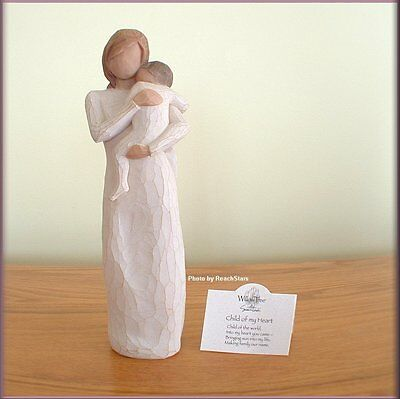 CHILD OF MY HEART FIGURINE FROM WILLOW TREE® ANGELS FREE U.S. SHIPPING