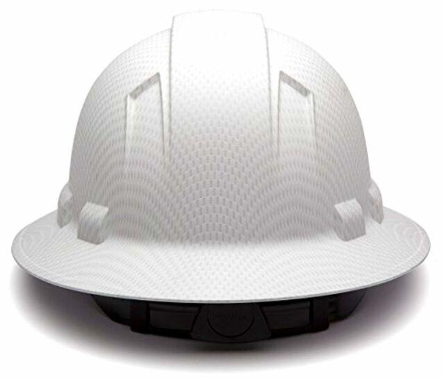 d12dccf3d Pyramex Safety Hp54116 Ridgeline Full Brim Hard Hat White Graphite Pattern