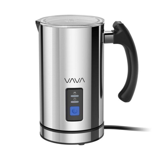 Montalatte Elettrico VAVA Schiumatore in Acciaio Inossidabile per Caffè Latte...