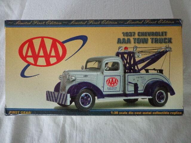 1st Gear 1937 CHEVY REMOLQUE CAMIÓN 1 30 Escala Aaa Day-night Servicio
