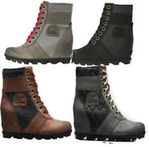 NEW SOREL Women's Lexie Wedge Boot