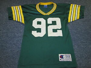 super cute 181ad 716b4 Details about VINTAGE CHAMPION NFL GREEN BAY PACKERS REGGIE WHITE JERSEY  YOUTH SIZE S 6-8