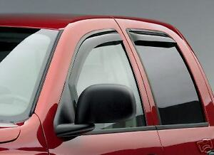 Auto Ventshade 194068 in-Channel Ventvisor Window Deflector 4 Piece