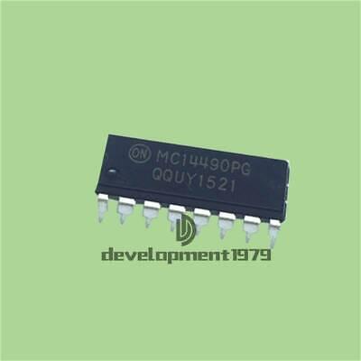 1pcs MC14490P MC14490 DIP new