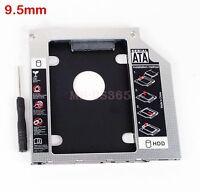 For Dell Inspiron 17 7000 7737 I5 I7 Add 2nd Sata Hard Drive Caddy Optical Bay