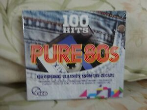 100-Hits-Pure-80s-Original-Classic-Greatest-Hits-New-Sealed-Free-uk-Post