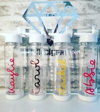 27faa91cb3 Exact love personalised water bottle island Fruit Infuser Straw Teacher Gift