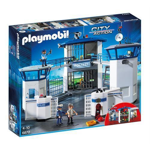 PLAYMOBIL 6872 Polizei-Kommandozentrale mit Gefängnis