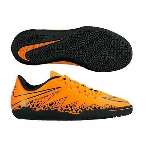 super popular 683f8 4b962 Nike HyperVenom Phelon II Indoor Soccer Shoes 2015 Orange / Black Kids -  Youth