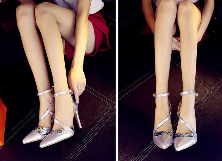 Décollte Scarpe decolte donna spillo tacco 11 cm stiletto stiletto stiletto colore argento 8702 9f1300