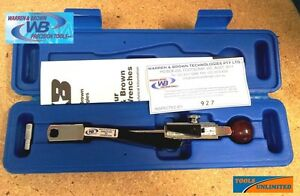 Warren-amp-Brown-Deflecting-Beam-Torque-Wrench-10-220-in-lbs-1-25Nm-1-4-034-Aust-made