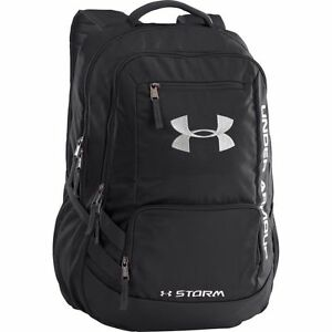 c979e0a443a8 Under Armour Storm Hustle II Backpack Red 1263964 Water Resistant ...