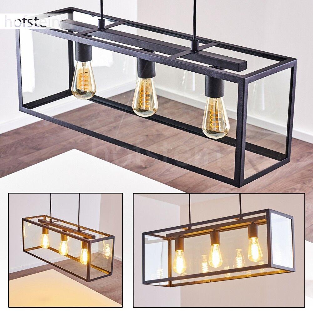 Negros péndulo lámparas ess residenciales sueño habitación iluminación colgando retro colgando iluminación luminarias 3d6f52