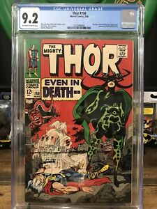 The-Mighty-Thor-150-Cgc-9-2-Hela-Cover-Beautiful-High-Grade