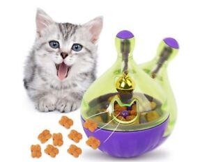 Jouet-pour-Chat-Toy-Katzenfuttet-Alimentaire-Balle-Nourriture-Mouse-Jeu-Training