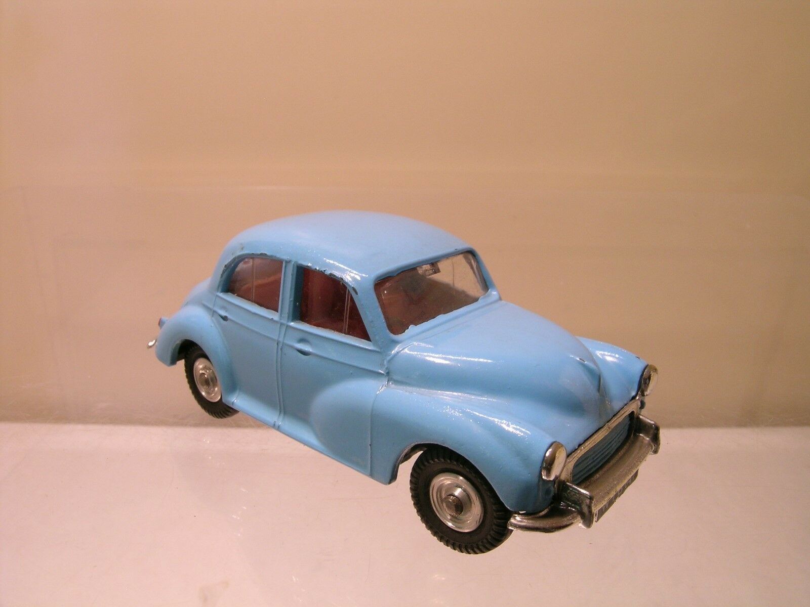 SPOT-ON  TRI-ANG No.289 1963 MORRIS MINOR 1000 LIGHT azul SCALE 1 42
