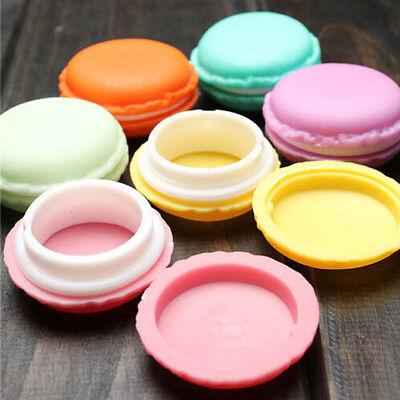 Macaron Kuchen Eis Shape Süßigkeit-Farben-Schmuck Ohrring Mini-Aufbewahrungsbox