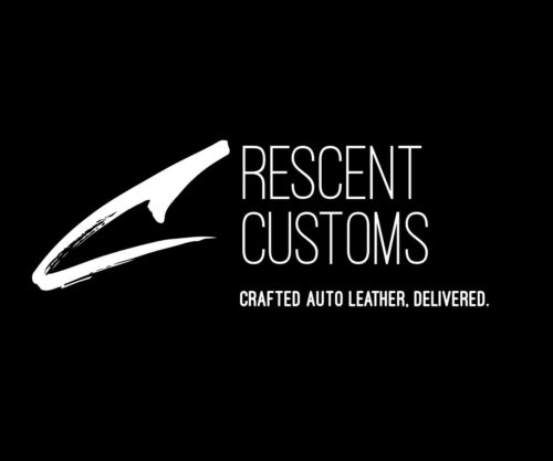 For 09-14 Acura TSX Front Door Panel Armrest Set 2pcs Vinyl Black