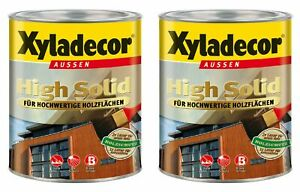 €4,99/L Spar Set Xyladecor Holzschutzlasur 10L Zeder High Solid Dickschichtlasur