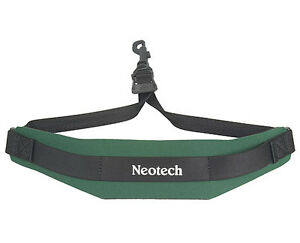 NEOTECH-SOFT-SAX-STRAP-FOREST-GREEN-COMFORTABLE-SAX-SLING-UK-POST-FREE