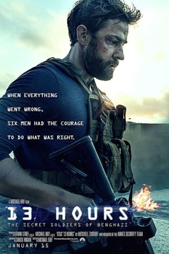 13 Hours Movie Poster Glossy Finish Posters USA PRM659