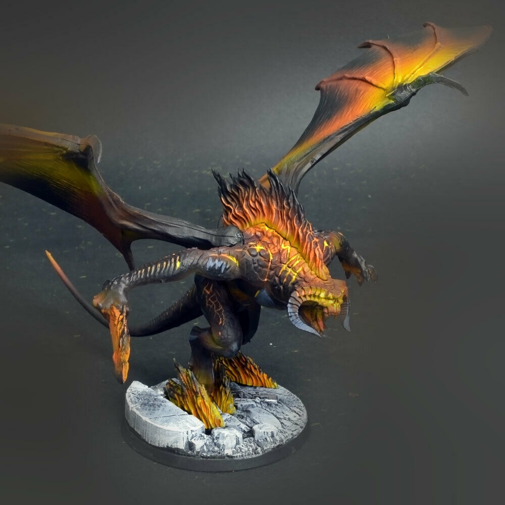 The Balrog - Battle for for for middle earth  COMMISSION   painting 47322a