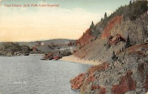 Jackfish-Bay-Ontario-Lake-Superior-Coal-Chutes-1907-Postcard