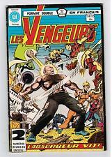 FRENCH COMIC FRANÇAIS EDITION HERITAGE   AVENGERS  / VENGEURS #  114 / 115