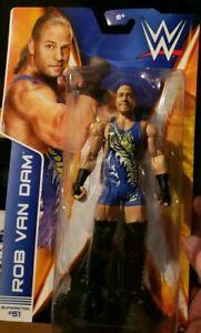 WWE Mattel acción figura serie 43 básico RVD Rob van DAM WCW Toy Play lucha libre