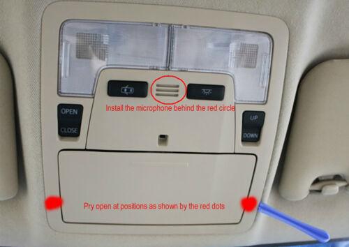 OEM Toyota Bluetooth Microphone with Cable RAV4 Camry Corolla Prado Marx Reiz