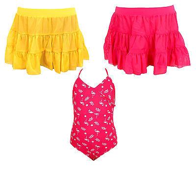 Girls Mesh Beach Skirt Swimwear kids Swimming Costume New Fashion 2-10 Years