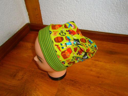 ♥Neu-Handmade♥Piratenköpfe♥Beanie♥ Mütze♥Kindermütze♥Gr.38-54♥Dawanda♥