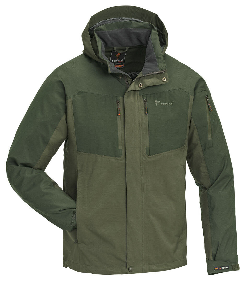 Pinewood Juptr Giacca verde 9713 tg S M L XL IMPERMEABILE Angel Giacca Traspirante