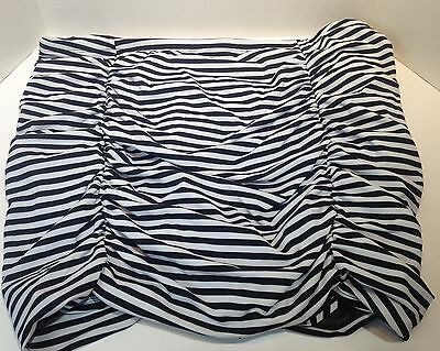 torrid striped bathing suit skirt bottoms Size 5
