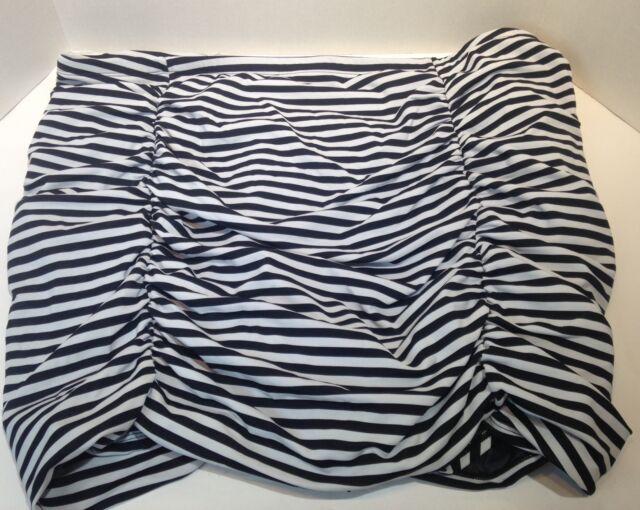 torrid striped bathing suit skirt bottoms Size 5