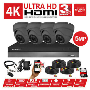 CCTV-4K-1080P-HD-5MP-Night-Vision-Outdoor-DVR-Home-Business-Security-System-Kit