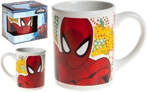 UFFICIALE-Marvel-Spiderman-Bambini-Tazza-in-Ceramica-in-Confezione-Regalo-8oz