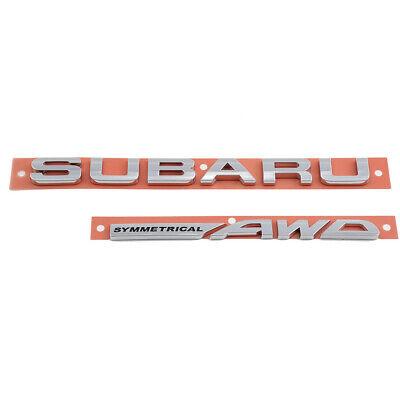 Genuine OEM Subaru 93079AL050 Nameplate Trunk Lid Emblem Badge 2015-2019 Legacy