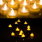 24pcs LED Tealight Timer Flicker Tea Candle Battery Operated Flameless for Party