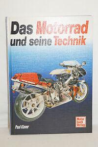 Das-Motorrad-und-seine-Technik-Paul-Klaver-2-Aufl-1993-ca-160-Seiten