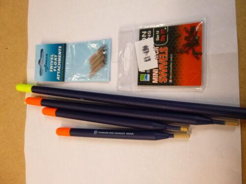 swivels//attachments barbel kit ! Preston Standard Speci Waggler Float Selection