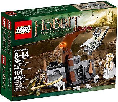 Lego Hobbit WITCH KING BATTLE Rare set 79015 New & Sealed CREASED BOX